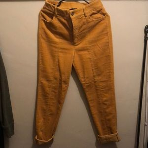 Forever 21 corduroy pants